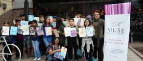 Арт мастер-класс для учеников международной школы QSI