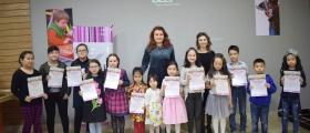 31-марта: Отчётная выставка юных художников студии Muse